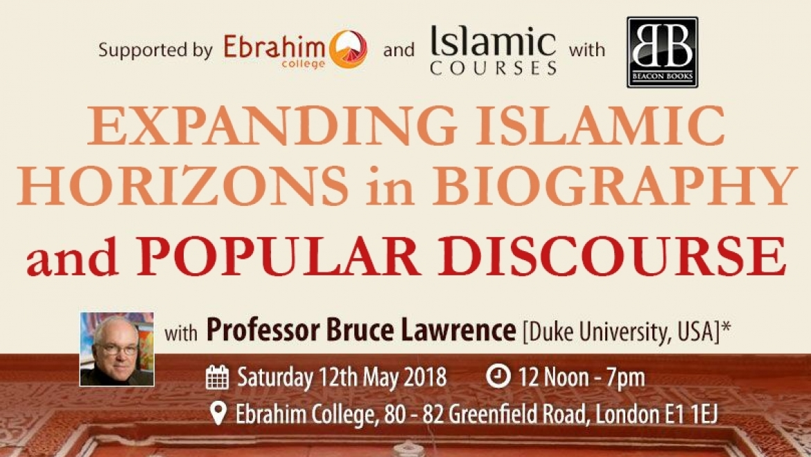 Expanding Islamic Horizons In Biography And Popular Discourse With